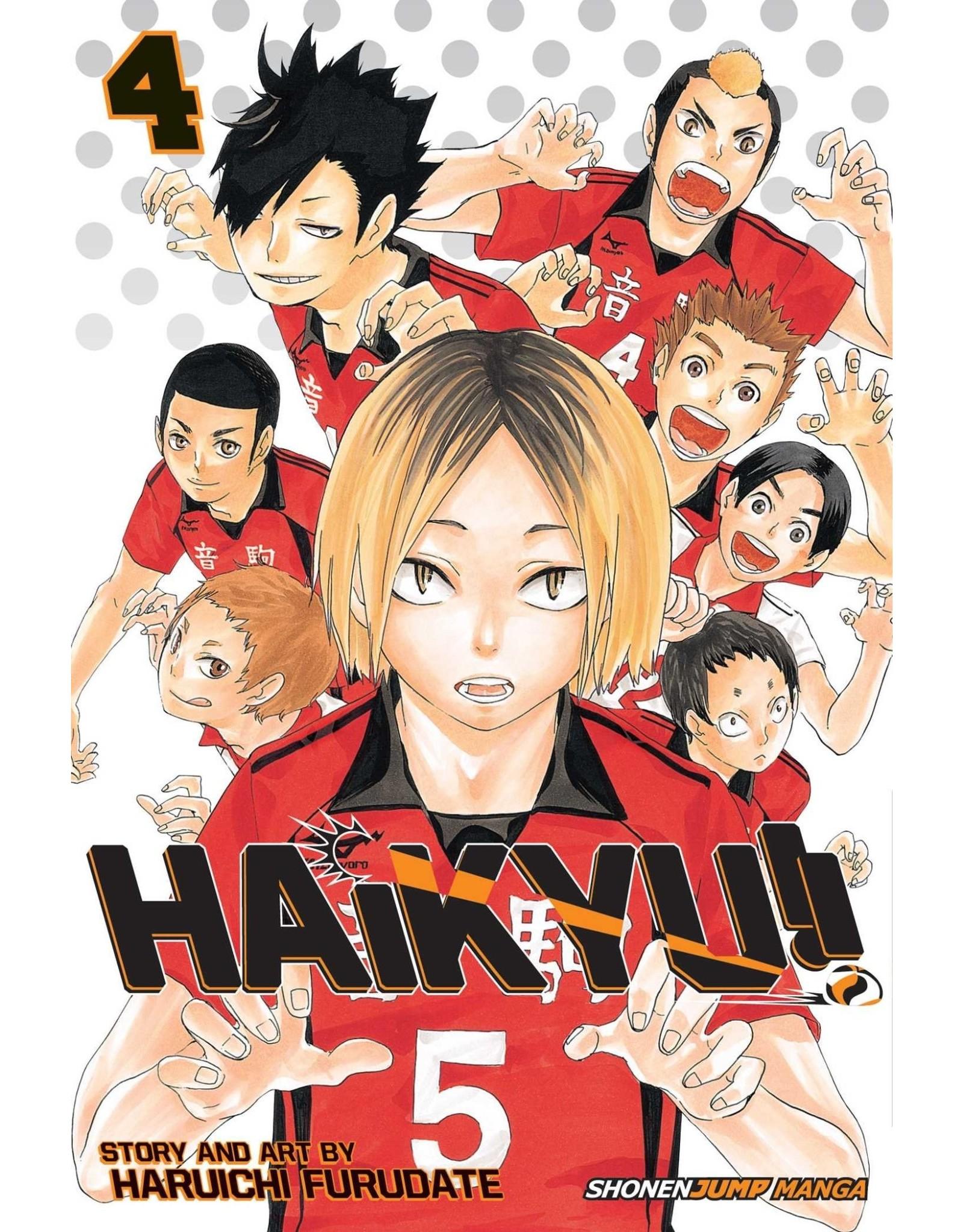 Haikyu!! 4 (Engelstalig)