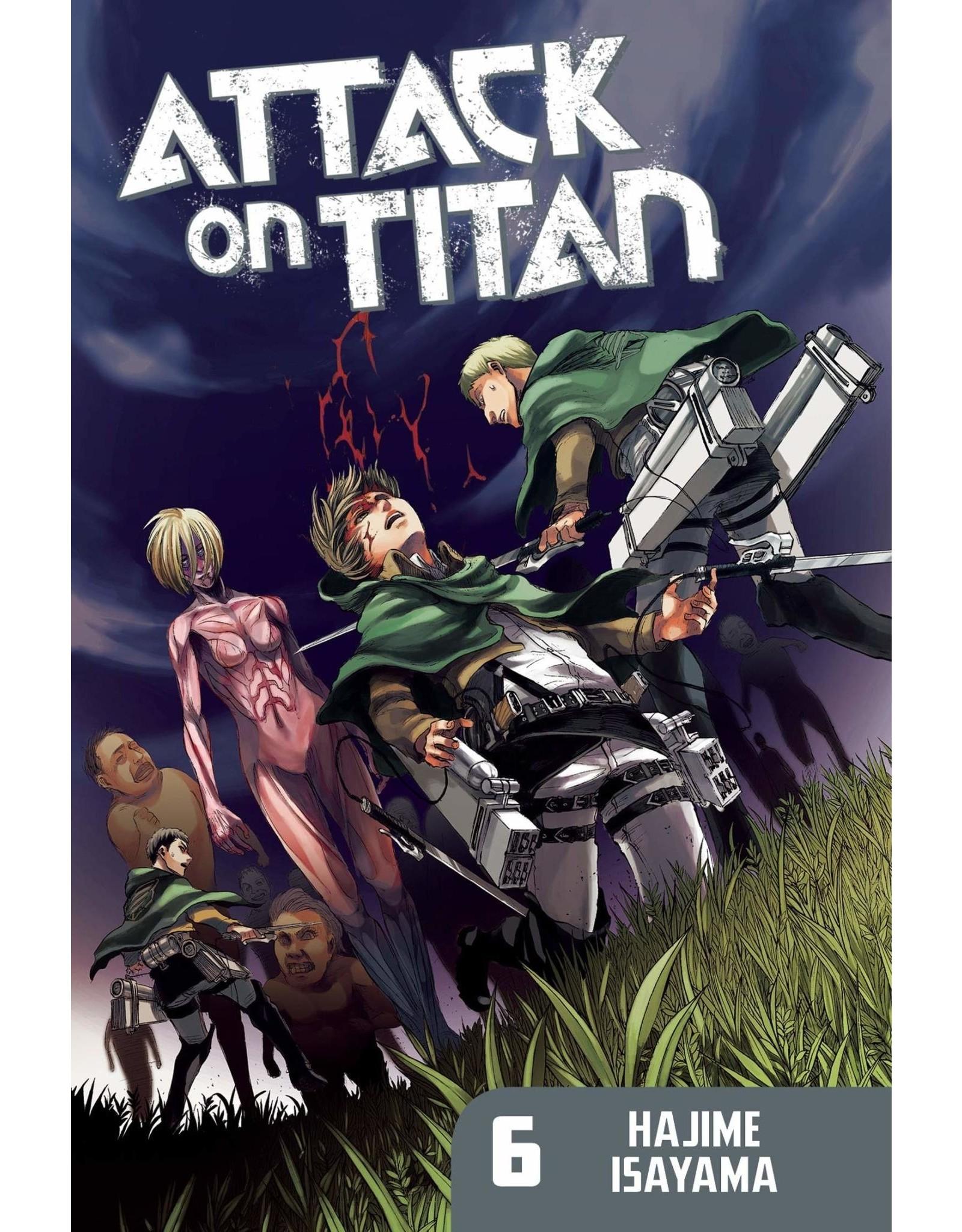 Attack on Titan 06 (Engelstalig)