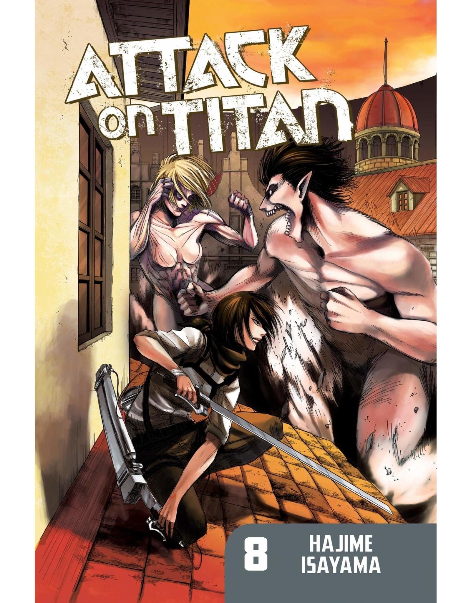 Attack on Titan 08 (Engelstalig)