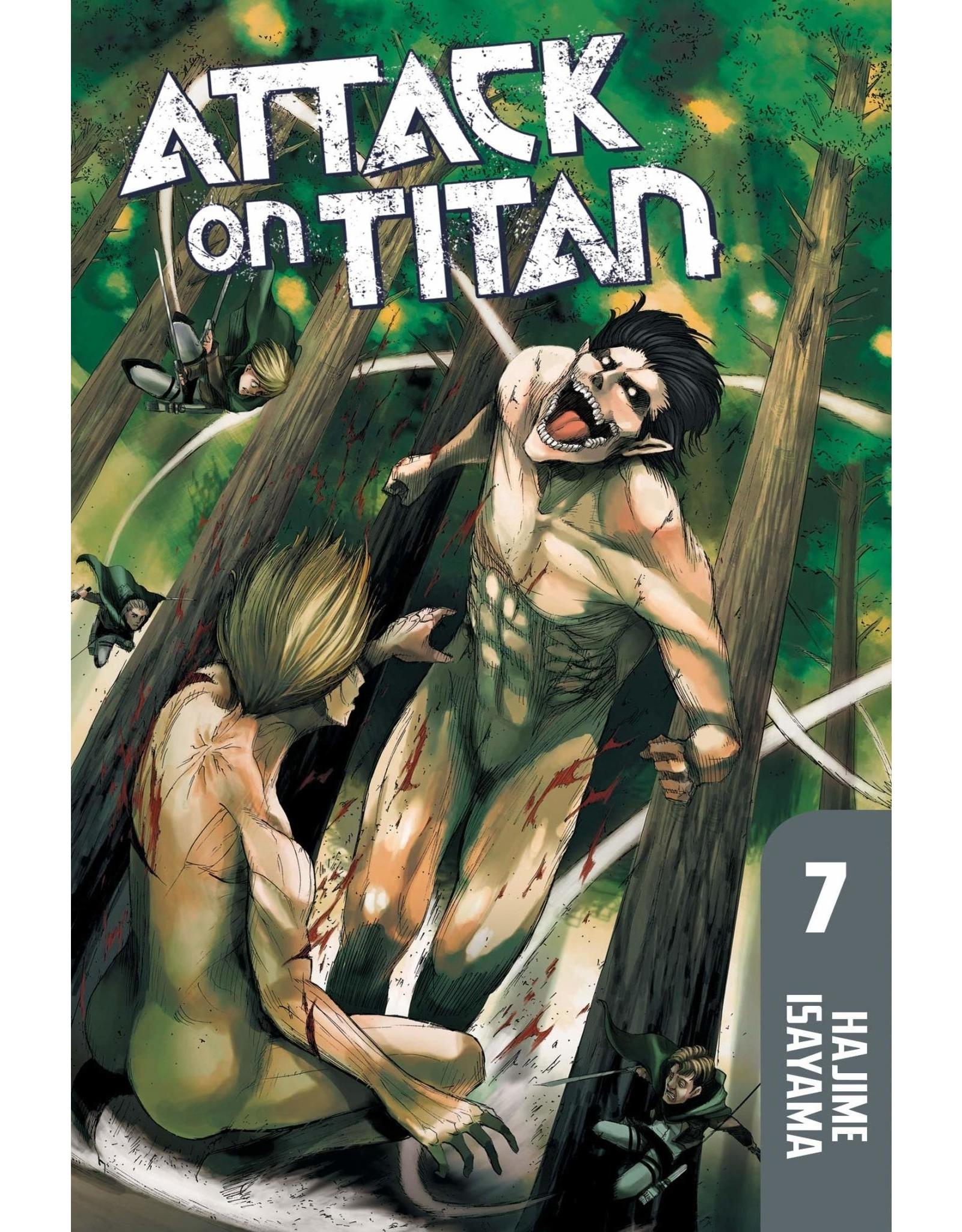 Attack on Titan 07 (Engelstalig)