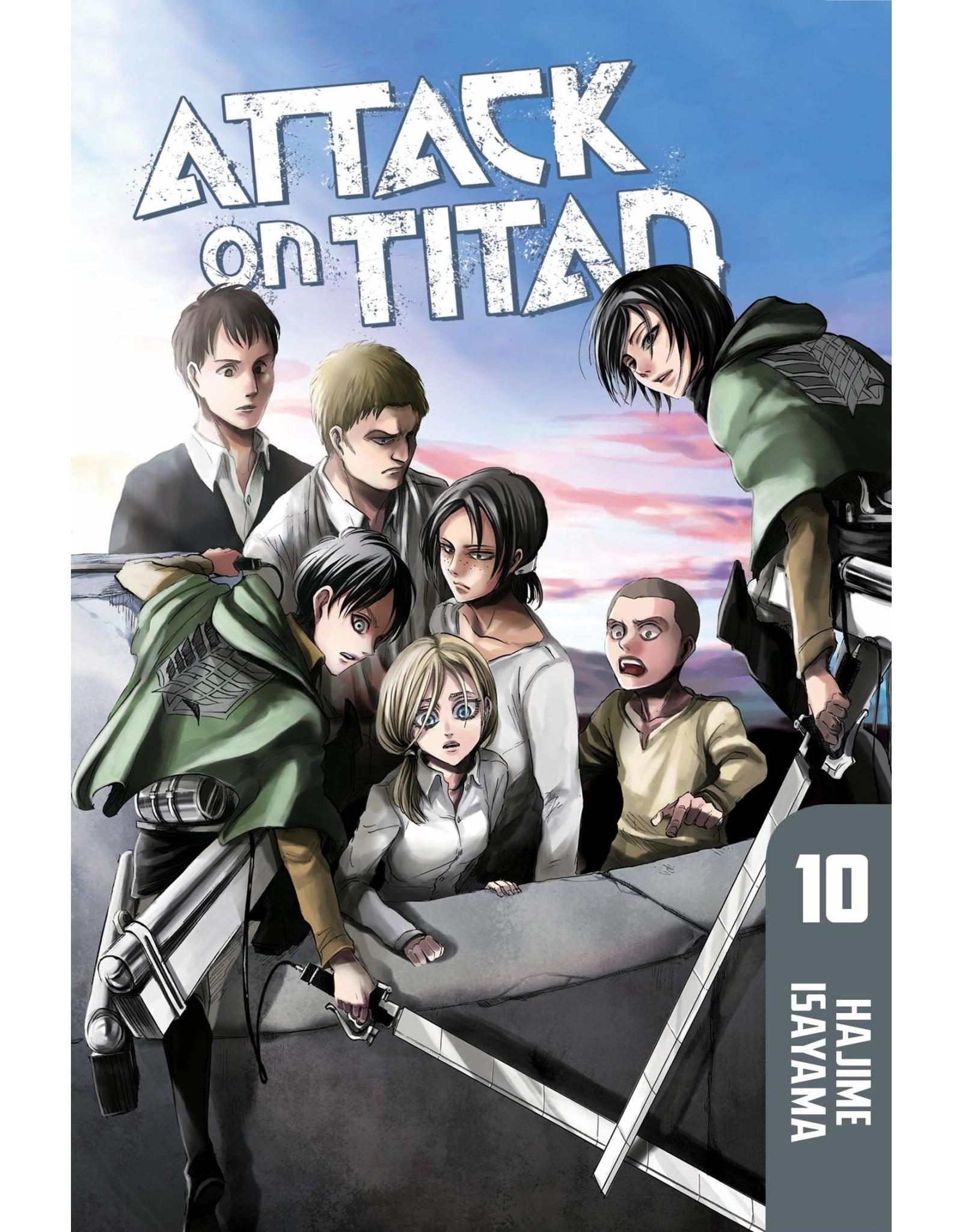Attack on Titan 10 (Engelstalig)
