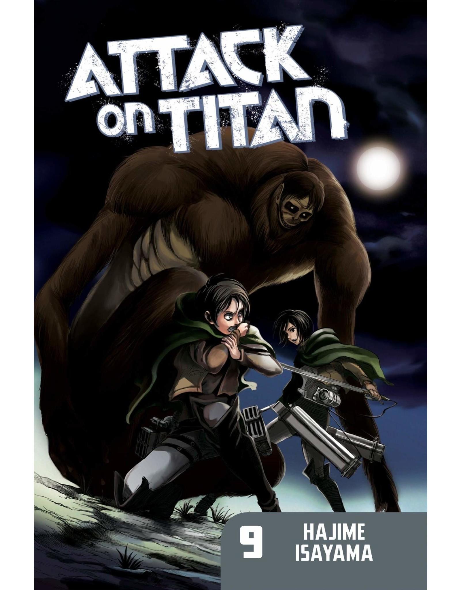 Attack on Titan 09 (Engelstalig)