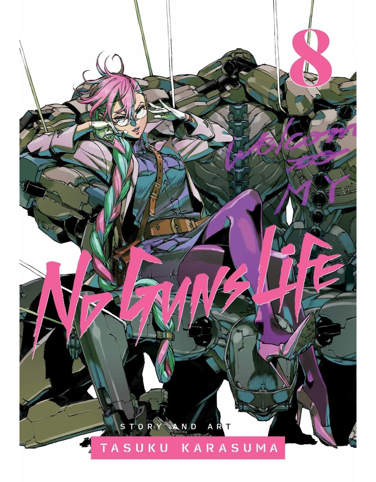 No Guns Life 8 (Engelstalig)