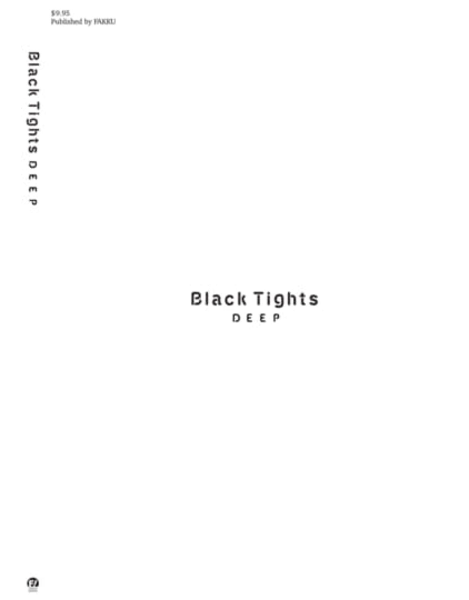 Black Tights Deep - Art Book - 102 pages (English)