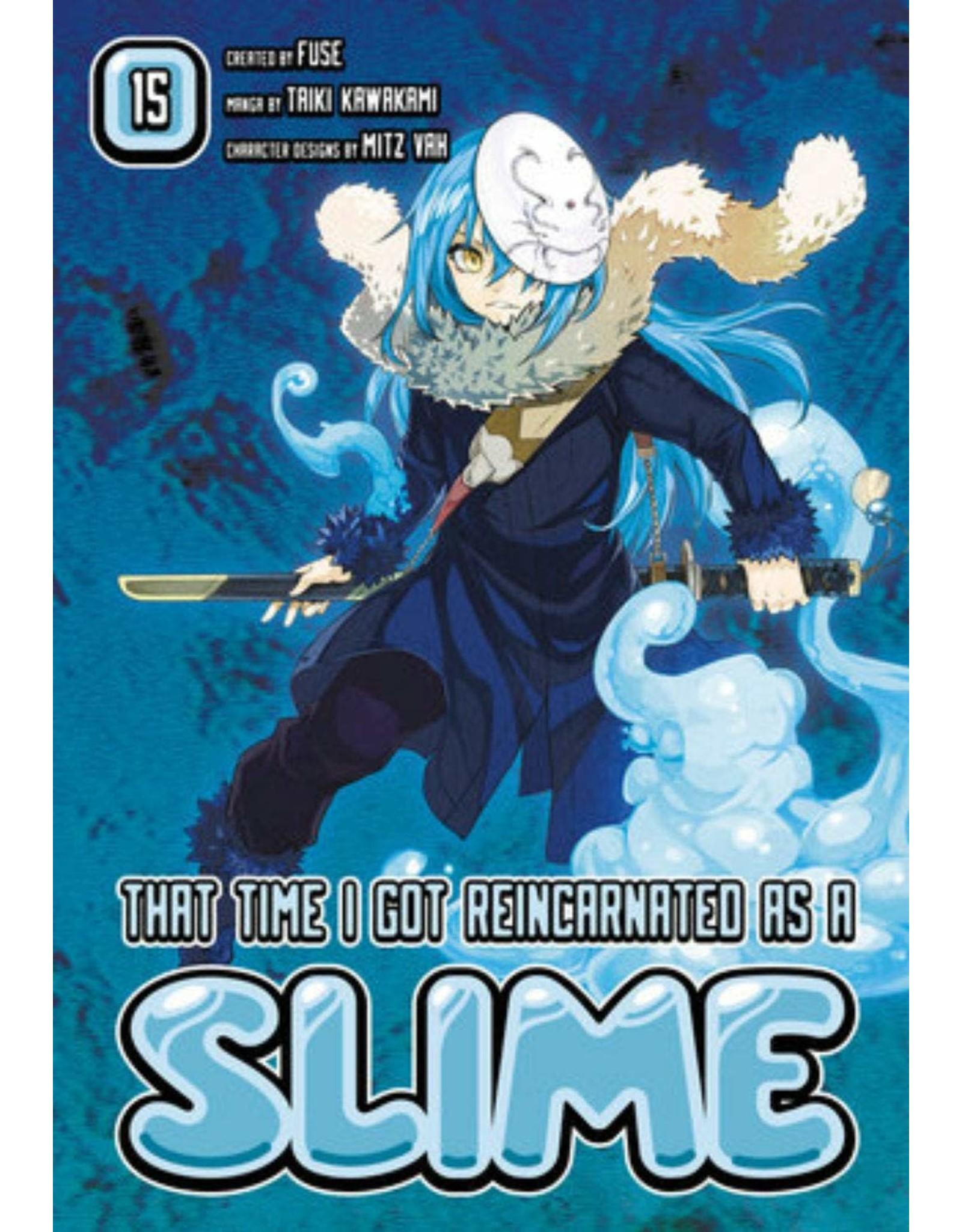 That Time I Got Reincarnated As A Slime 15 (Engelstalig)