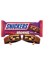 Snickers Peanut Brownie Squares - 34g