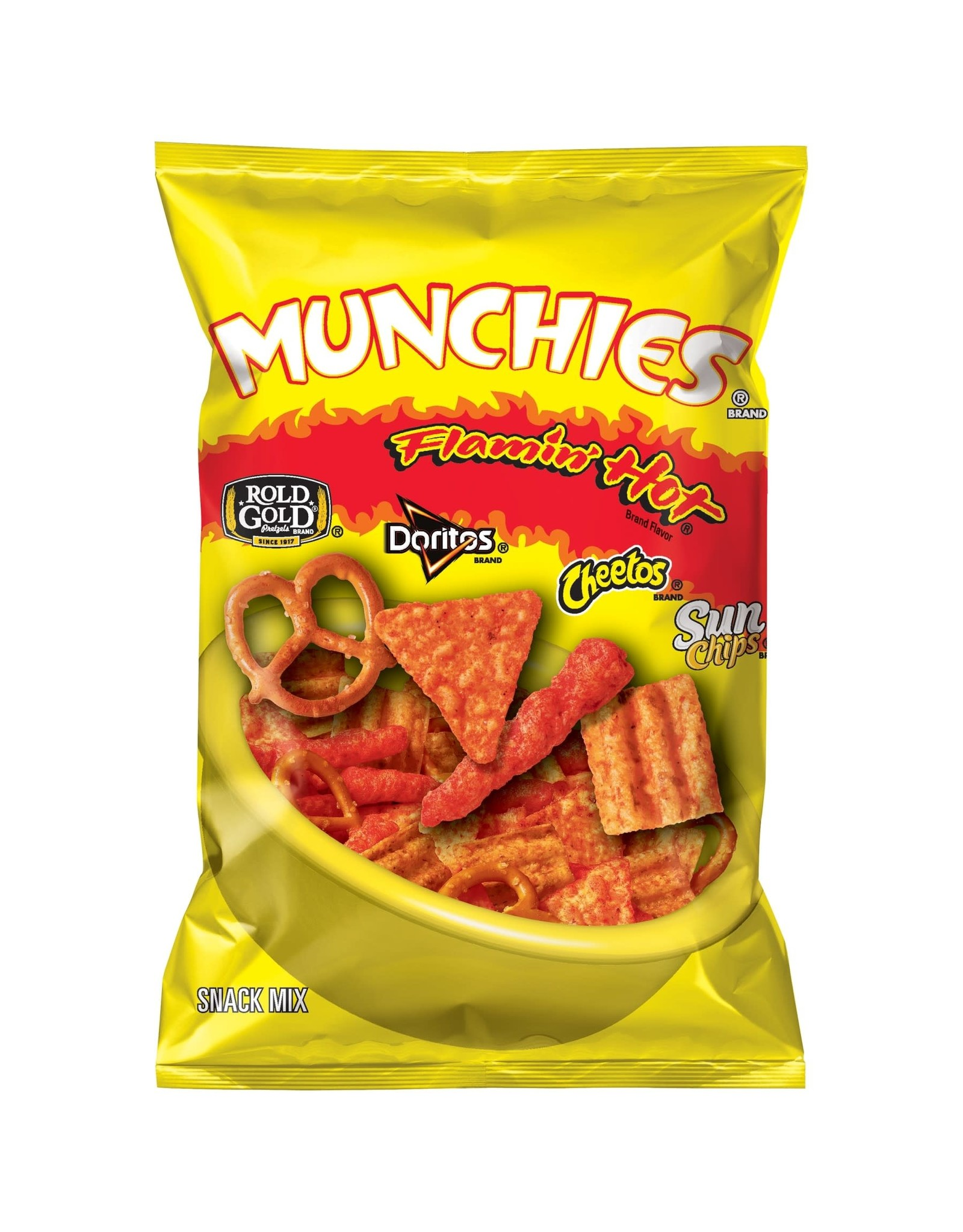 Munchies Flamin' Hot Snack Mix - Groot - 262g