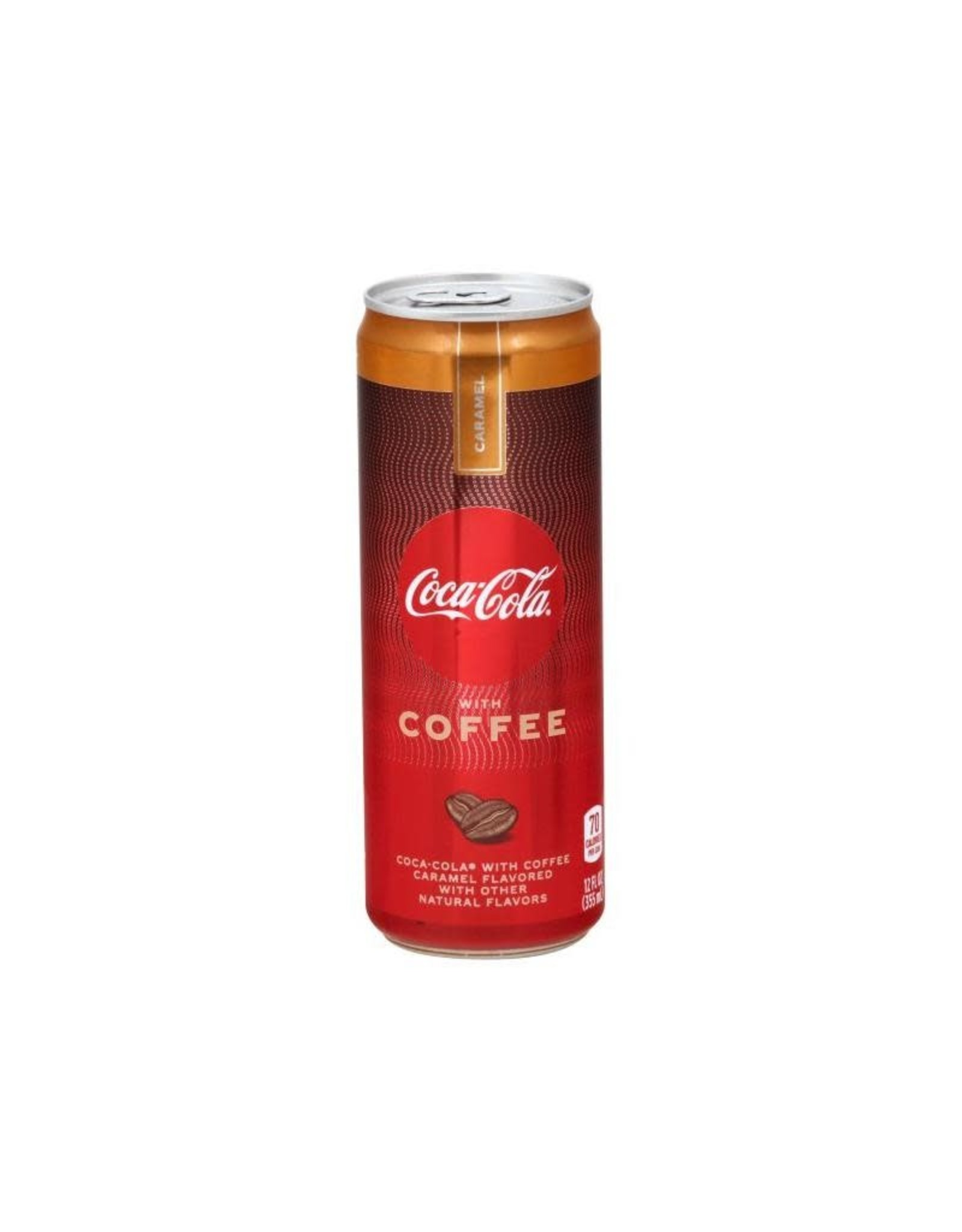 Coca-Cola with Coffee - Caramel Flavored - 25cl