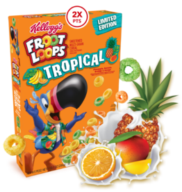 Froot Loops Tropical - 286g - THT-datum: 2/06/2021