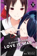 Kaguya-Sama: Love is War 18 (English)