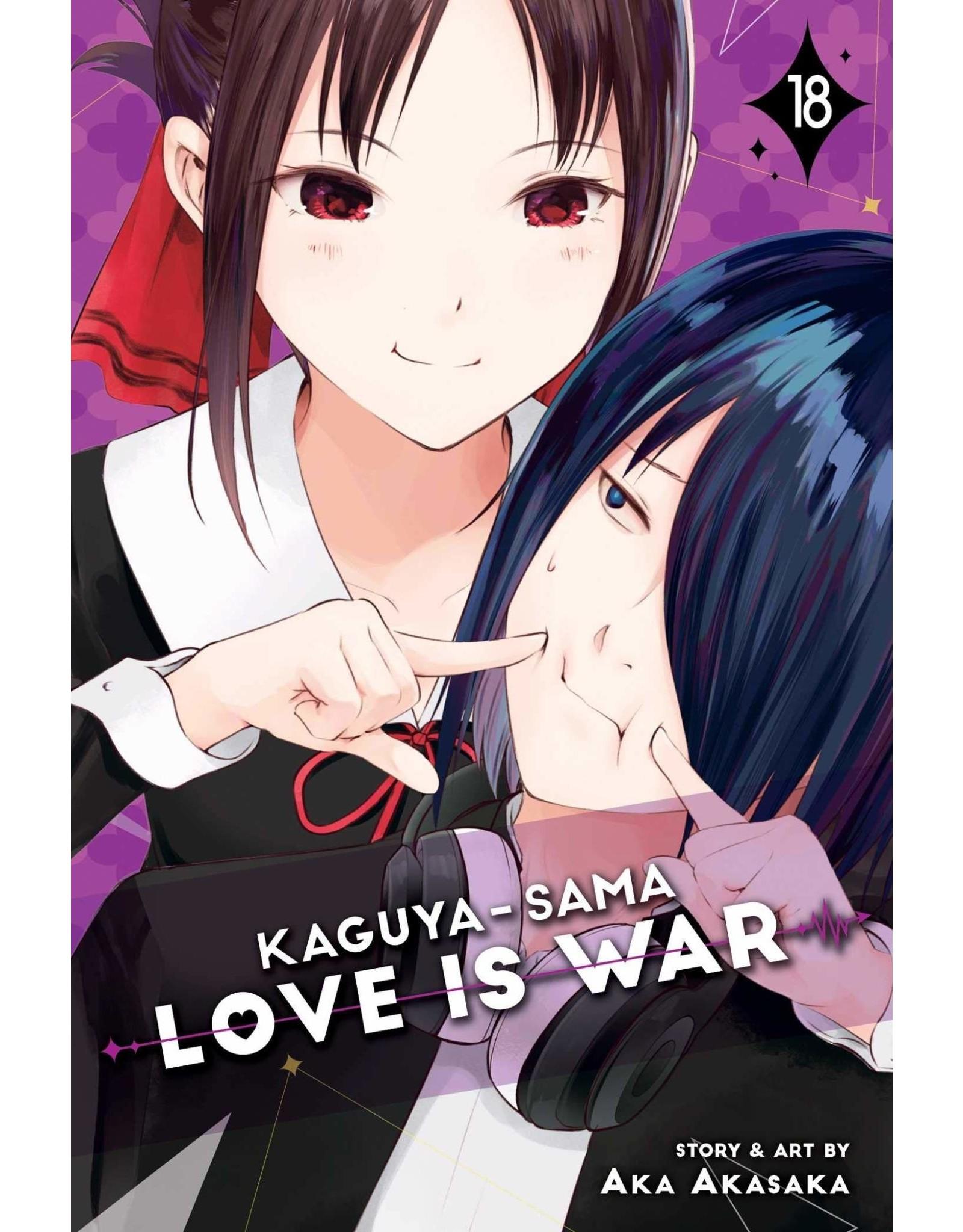 Kaguya-Sama: Love is War 18 (Engelstalig)