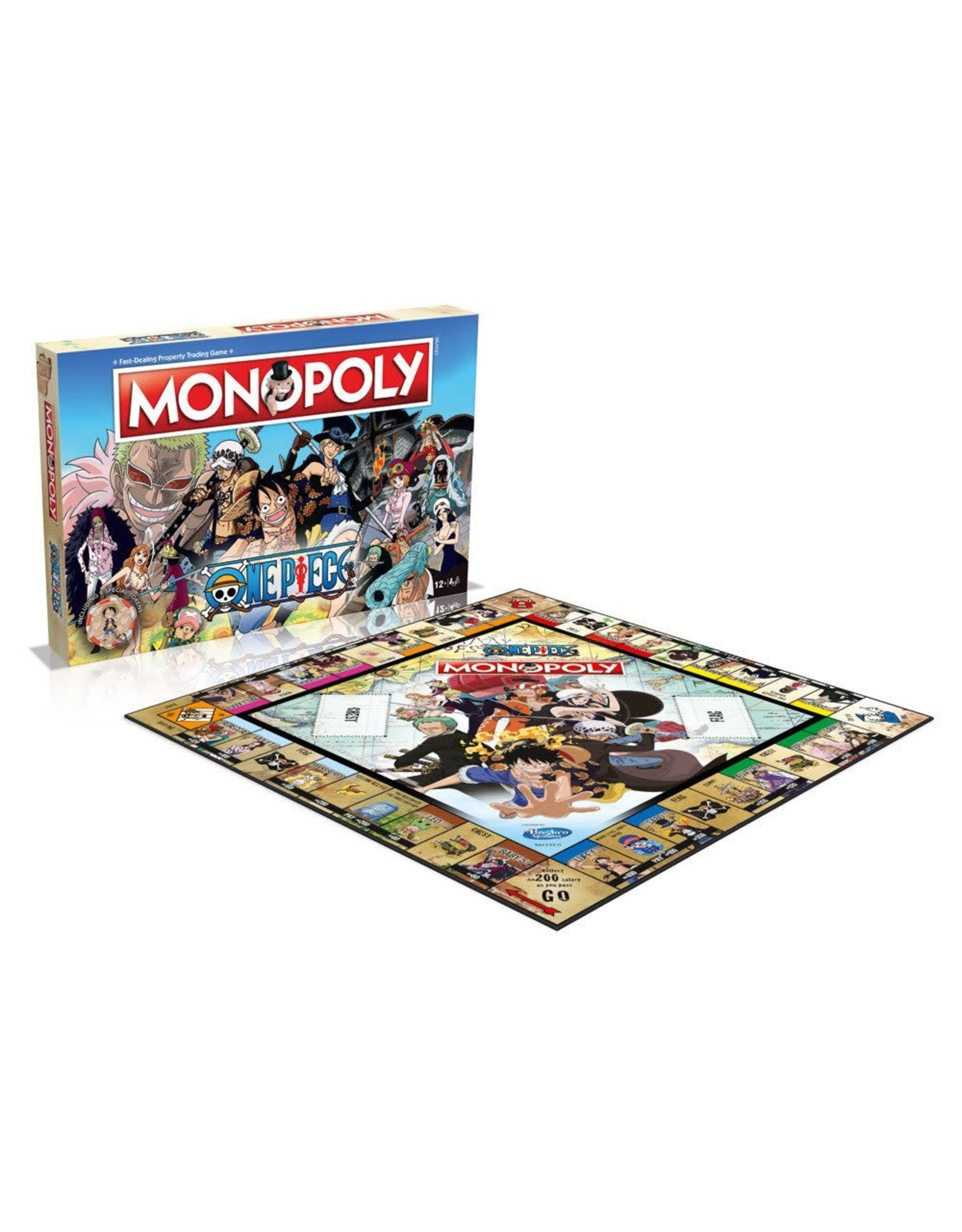 Monopoly - One Piece (Engelstalig)