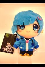 Re:Zero Mascot Plush - Rem Blue Jacket - Nesoberi Plush - 12cm