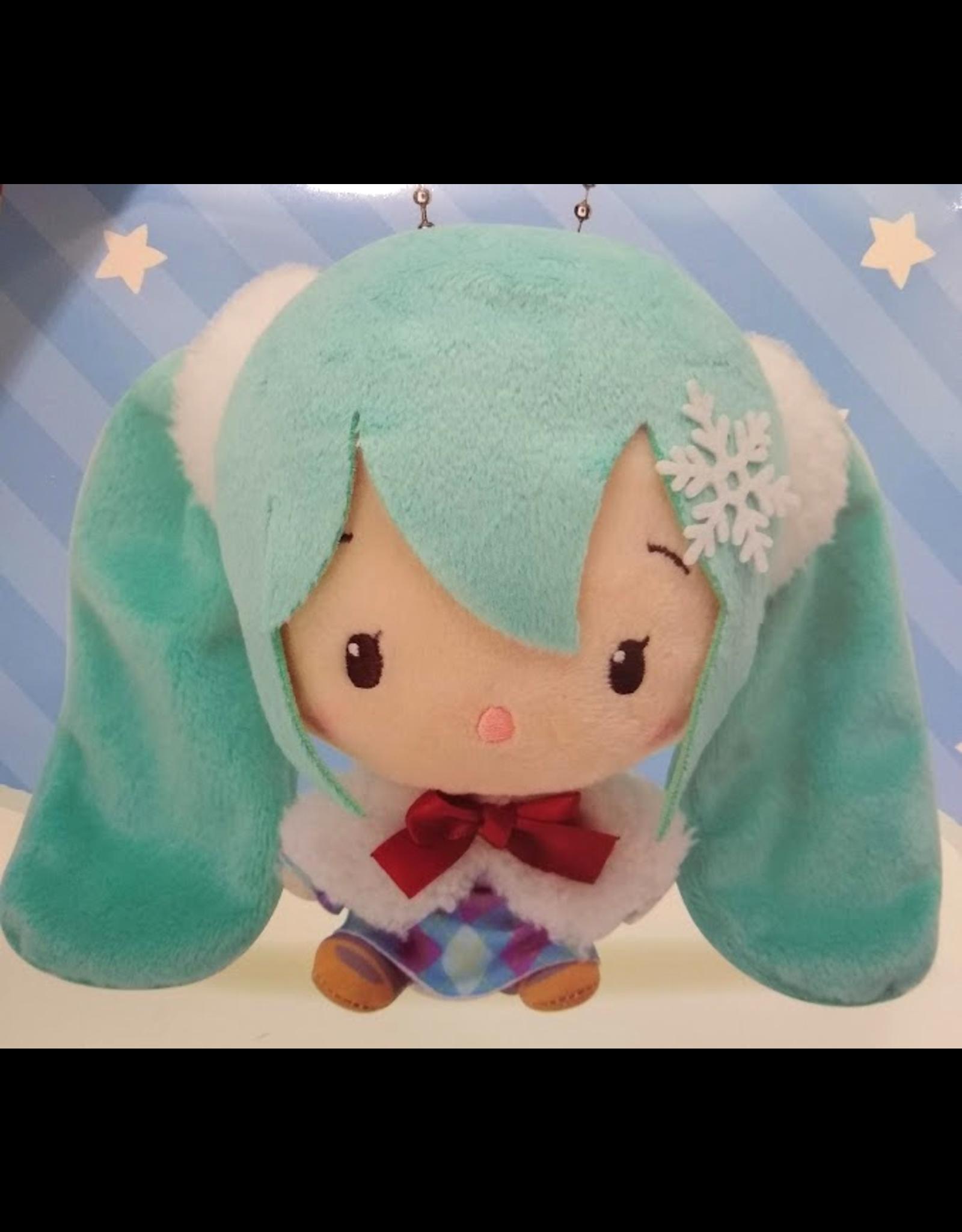 Hatsune Miku Cute Plush Winter Version - Snowflake - 14 cm
