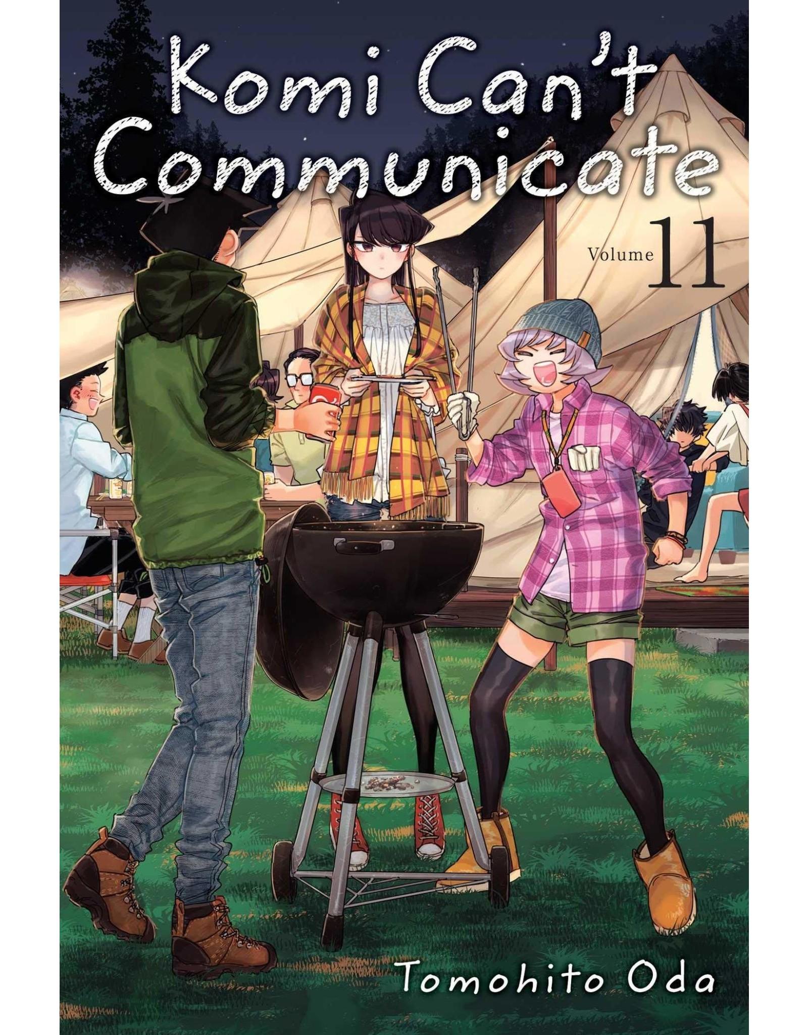 Komi Can't Communicate 11 (Engelstalig)