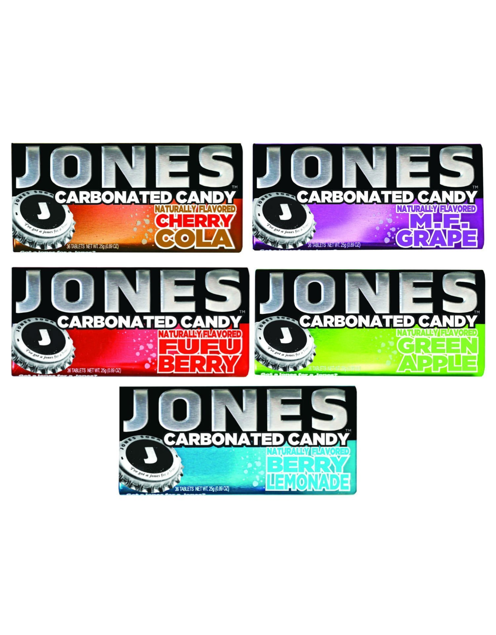 Jones Carbonated Candy - Fufu Berry - 28g