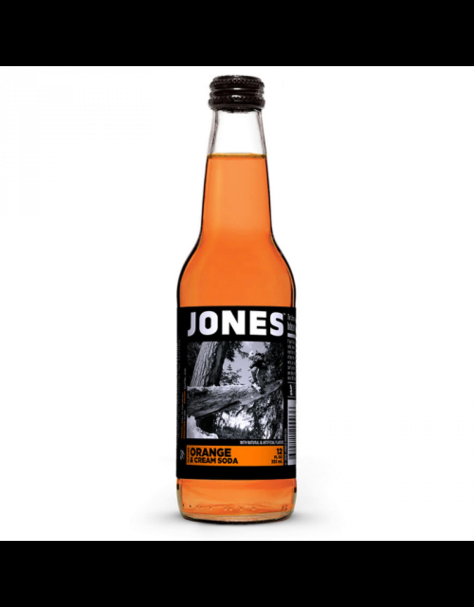 Jones - Orange & Cream Soda - Cane Sugar Soda - 355ml