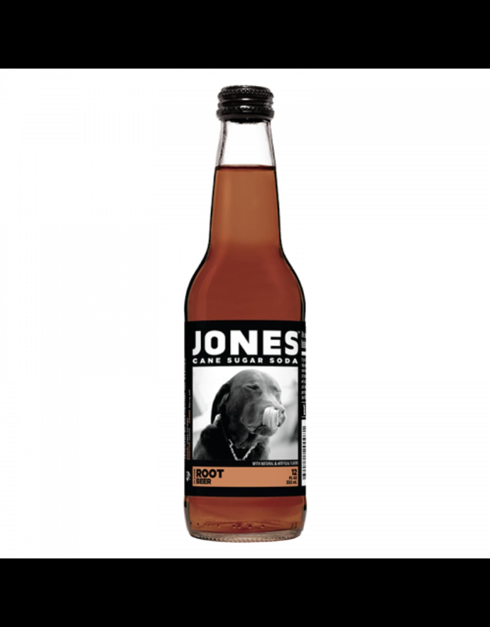 Jones - Root Beer - Cane Sugar Soda - 355ml