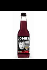 Jones - Extreme Sour Black Cherry Soda (Warheads) - Cane Sugar Soda - 355ml