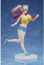 Super Sonico - Super Sonico Jogging Version - PVC Statue 1/7 - 26 cm