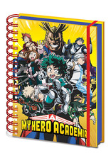My Hero Academia Characters A5 Notebook