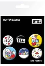 BT21 - 6 Button Mix