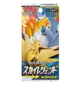 Pokémon Sun & Moon: Sky Legend Booster Pack - Japanese edition (5 cards)