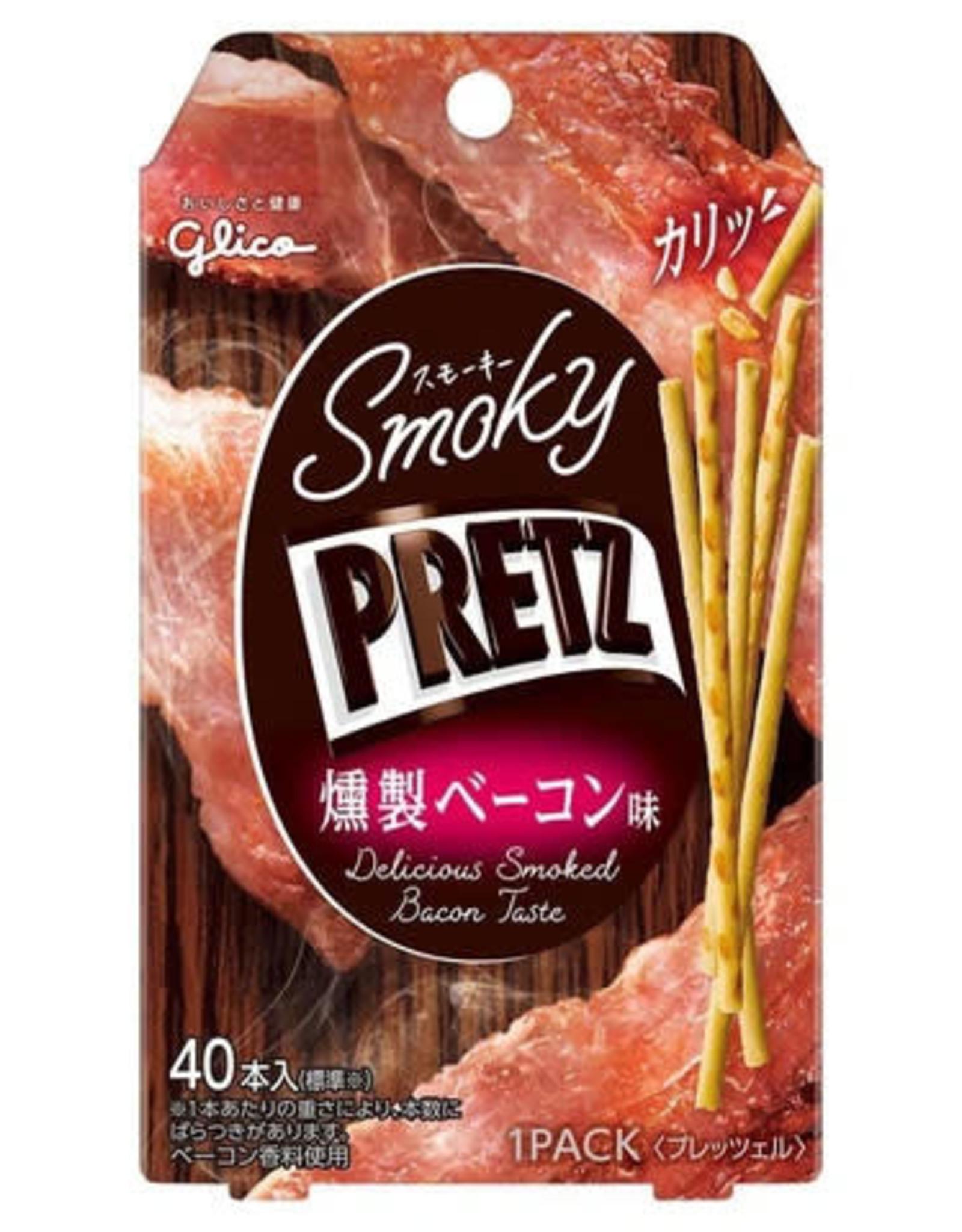 Pretz - Smoky Pretz - Delicious Smoked Bacon Taste - 24g