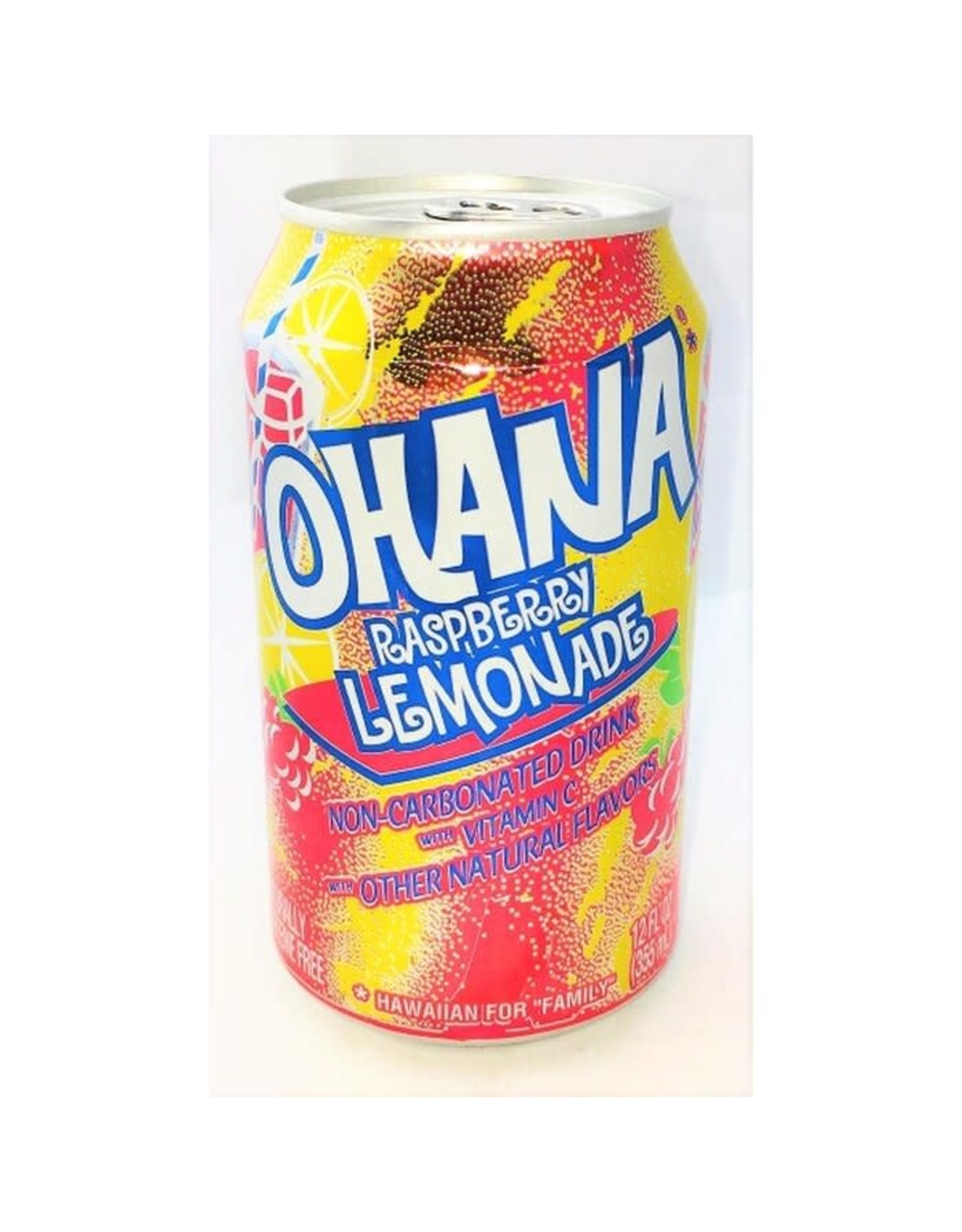 Faygo - Ohana Raspberry Lemonade - 355ml