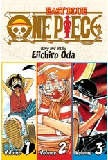 One Piece East Blue Volumes 1-2-3 (English)