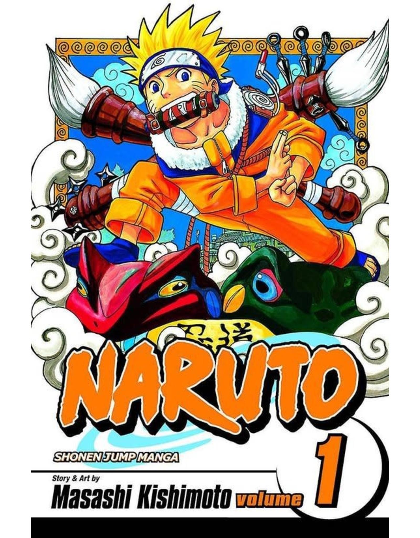 Naruto 1 (Engelstalig)