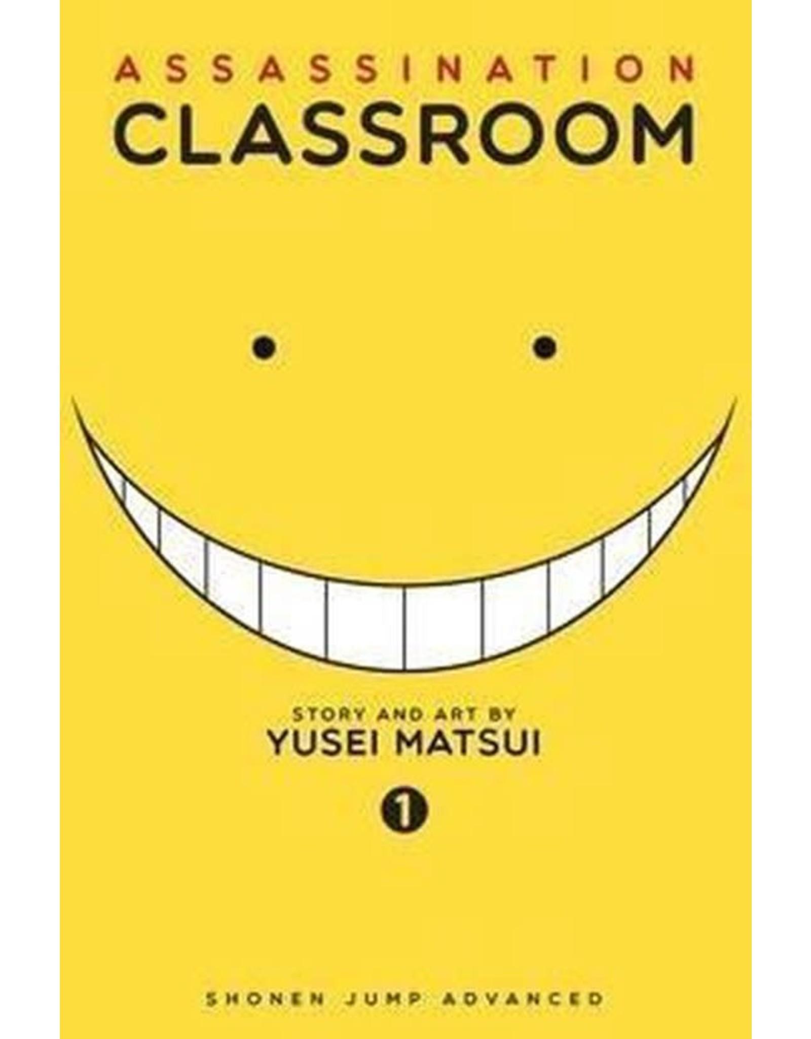 Assassination Classroom 1 (Engelstalig)