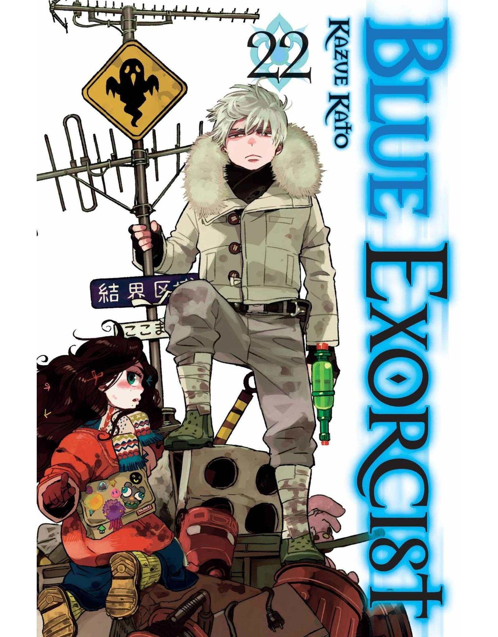 Blue Exorcist 22 (English)