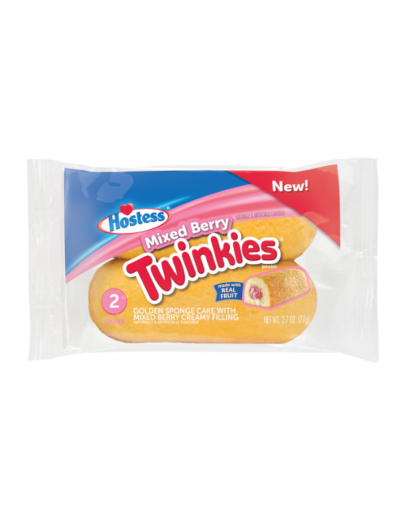 Twinkies Mixed Berry - 2 pack - 77g