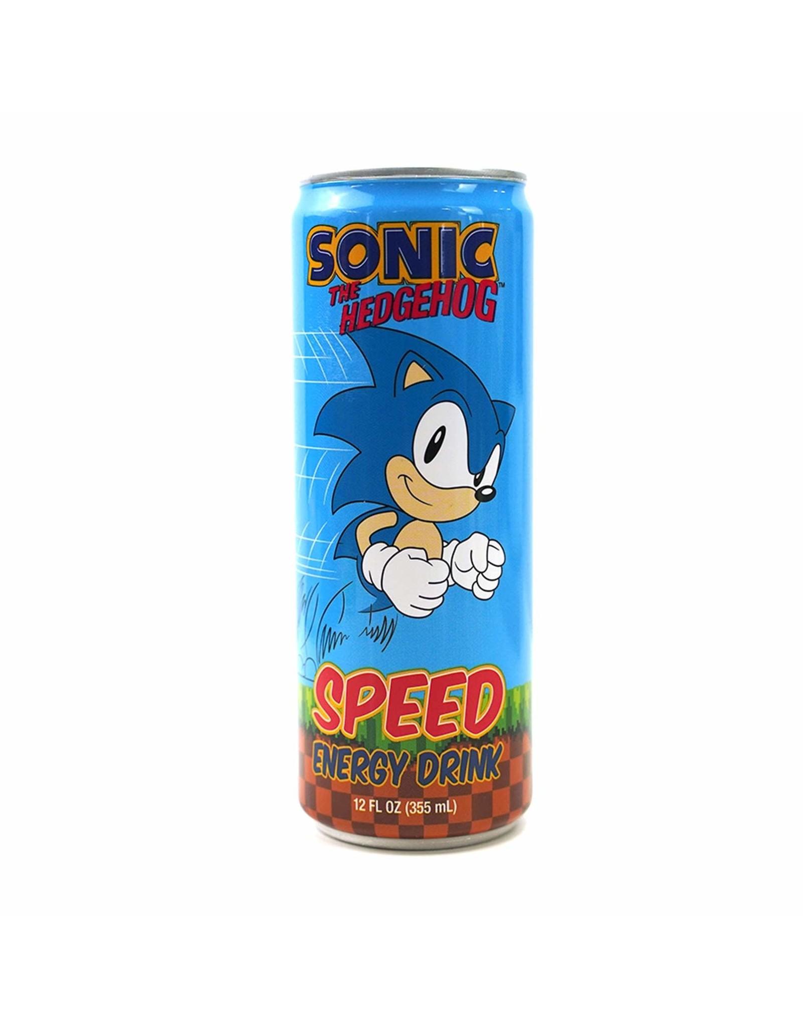 Sonic The Hedgehog Speed Energy Drink - 355ml