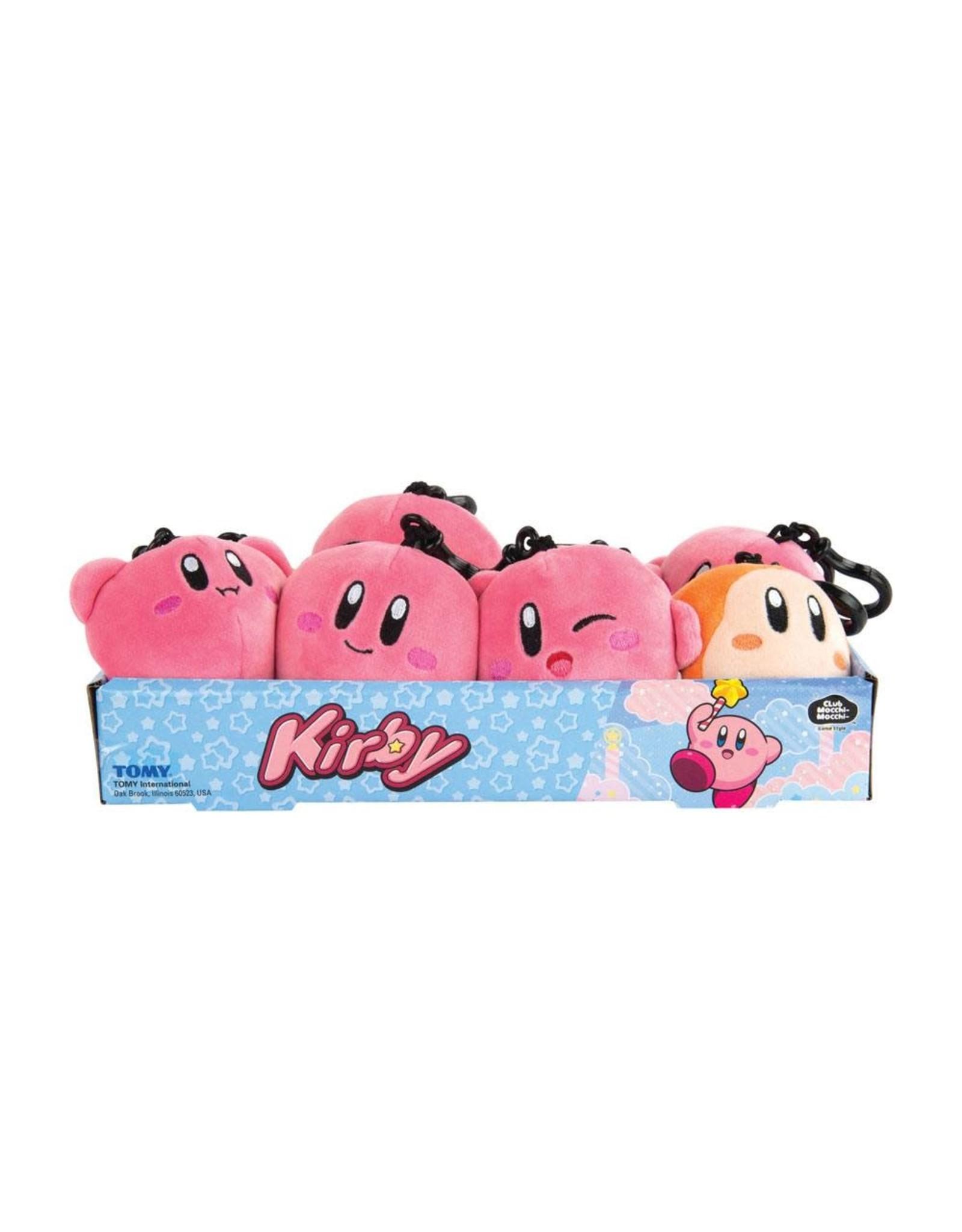 Kirby Mocchi-Mocchi Clip-On Plush Hanger (random) - 10 cm