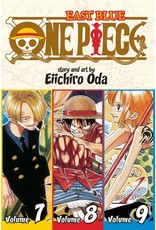 One Piece East Blue Volumes 7-8-9 (English)