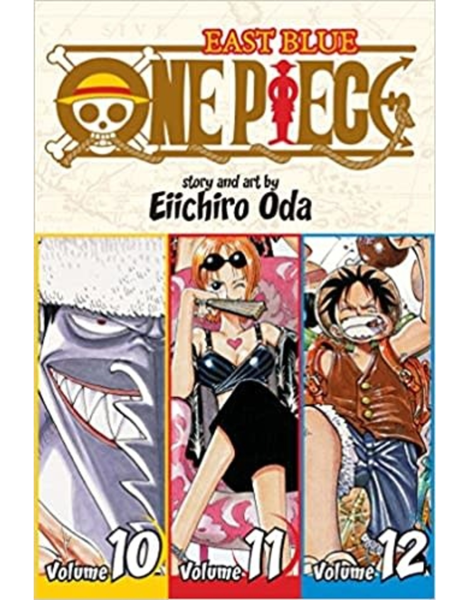 One Piece East Blue Volumes 10-11-12 (English)