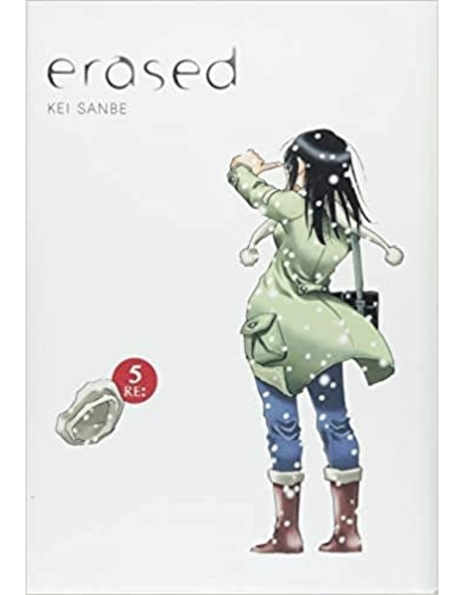 Erased 5 - Hardcover (Engelstalig)