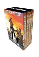 Attack on Titan - Season 1 Part 1 - Volumes 1 - 4 - Manga Box Set (Engelstalig)