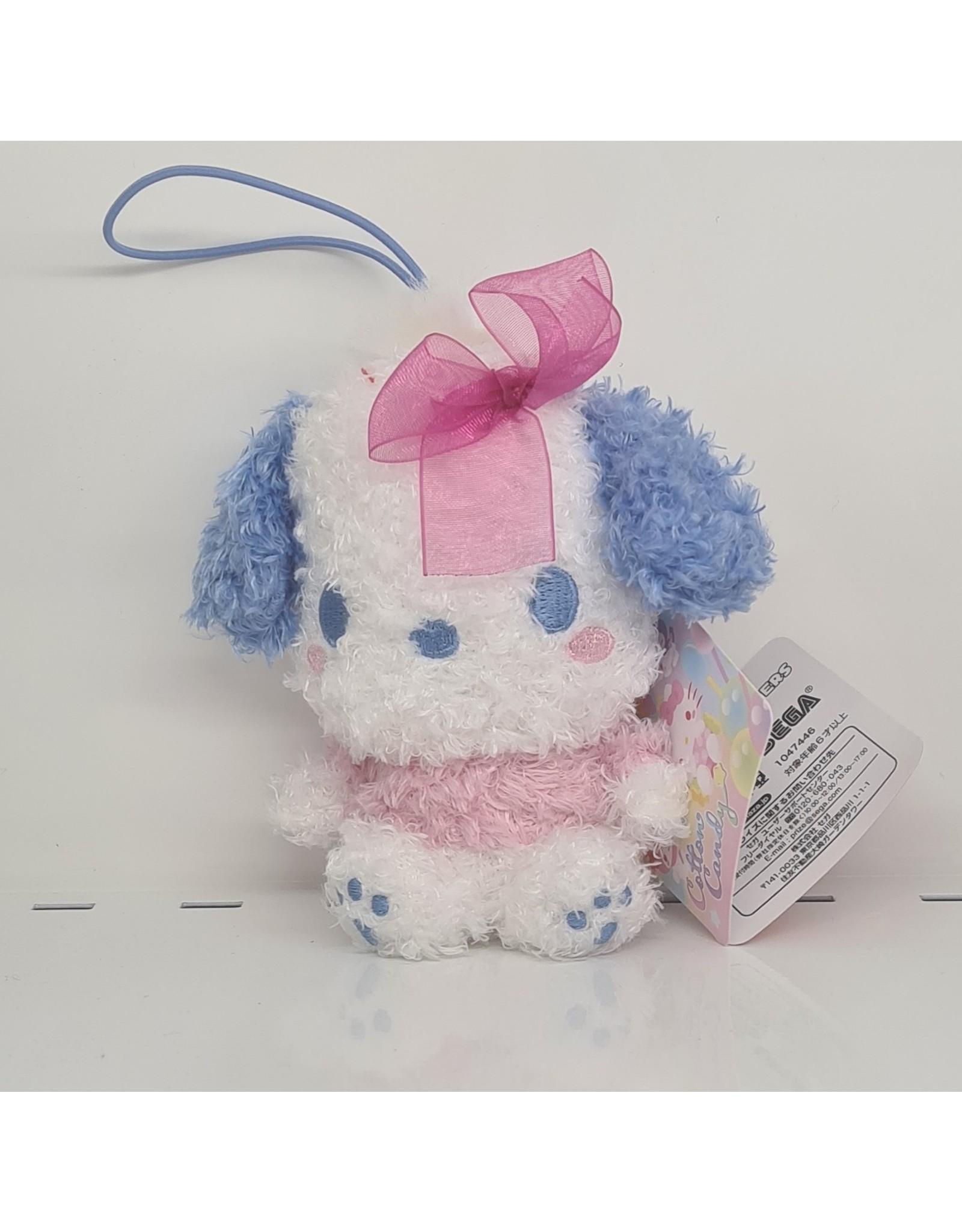 Sanrio Cotton Candy Ribbon Plush - Pochacco - 10 cm