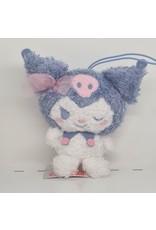 Sanrio Cotton Candy Ribbon Plush - Kuromi - 10 cm