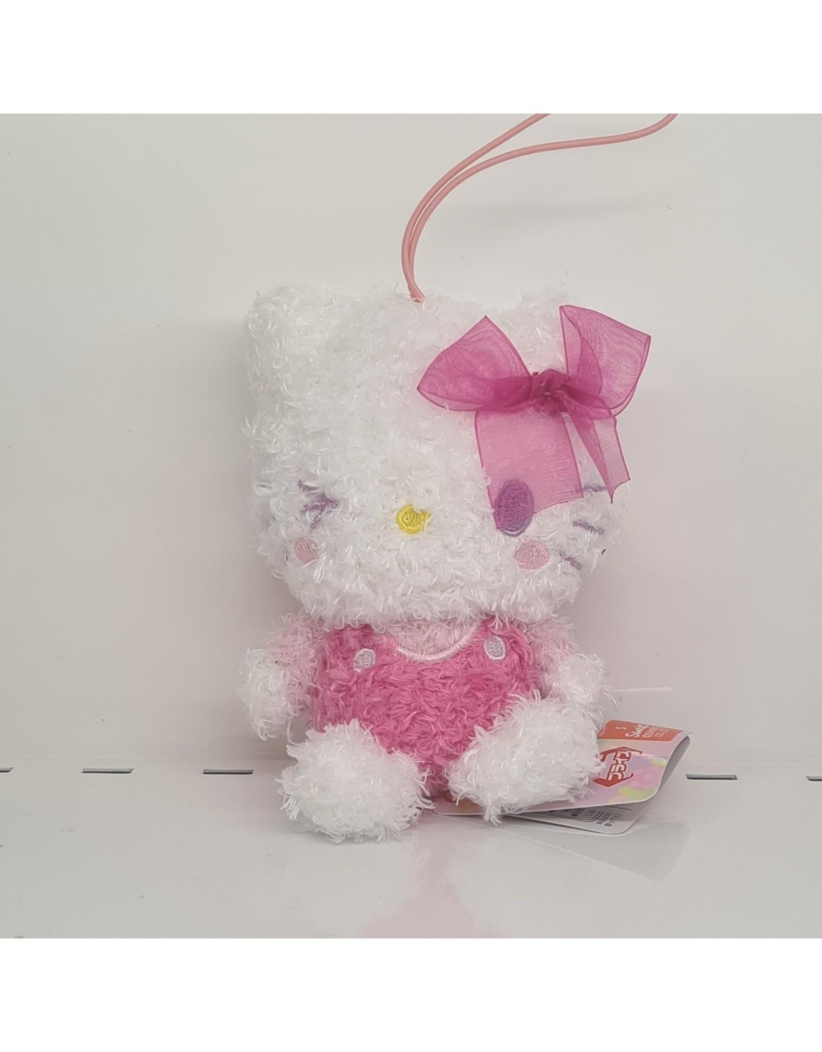 Sanrio Cotton Candy Ribbon Plush - Hello Kitty - 10 cm