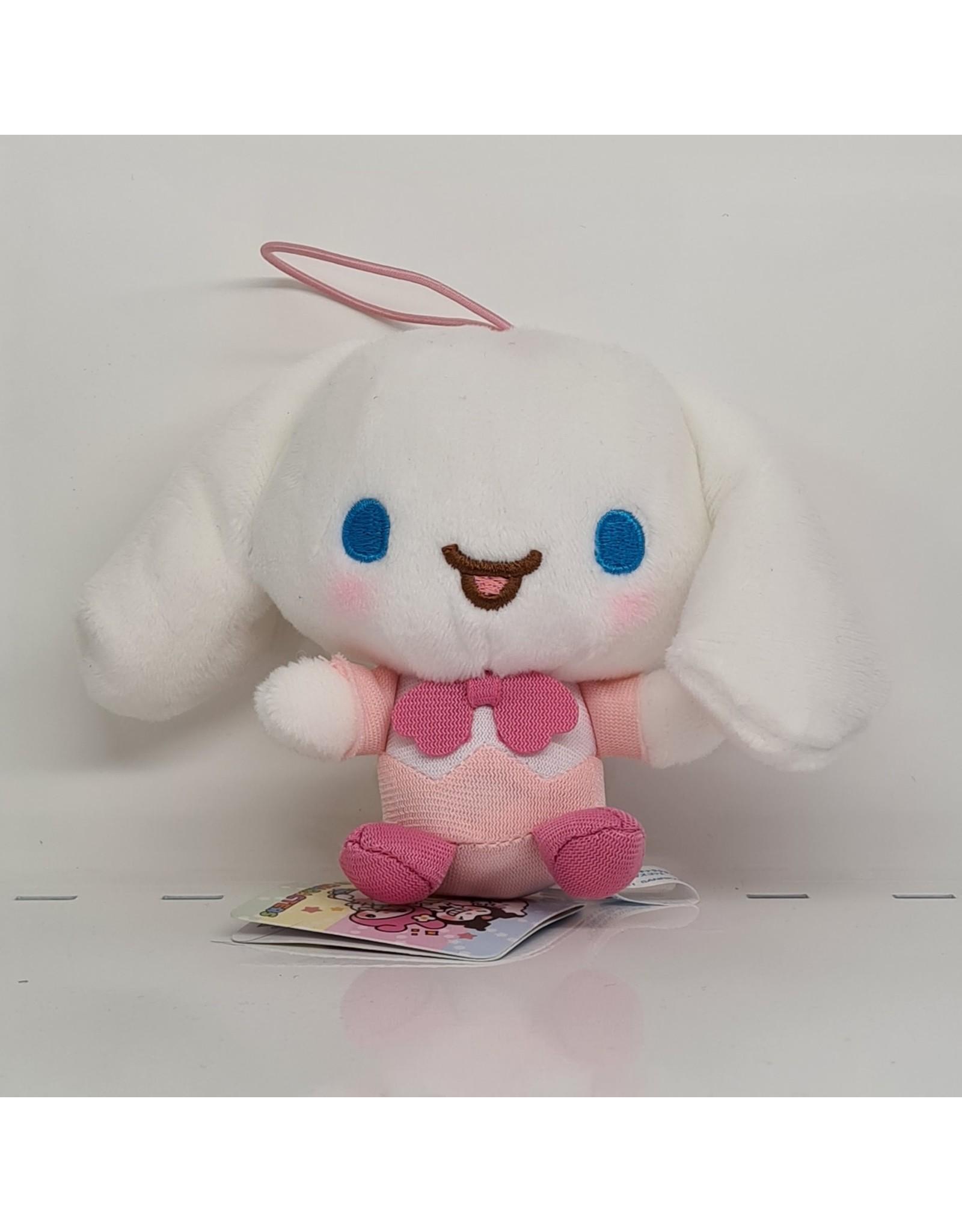 Sanrio Yurukawa Character Series Sakura Plush - Cinnamoroll - 10 cm