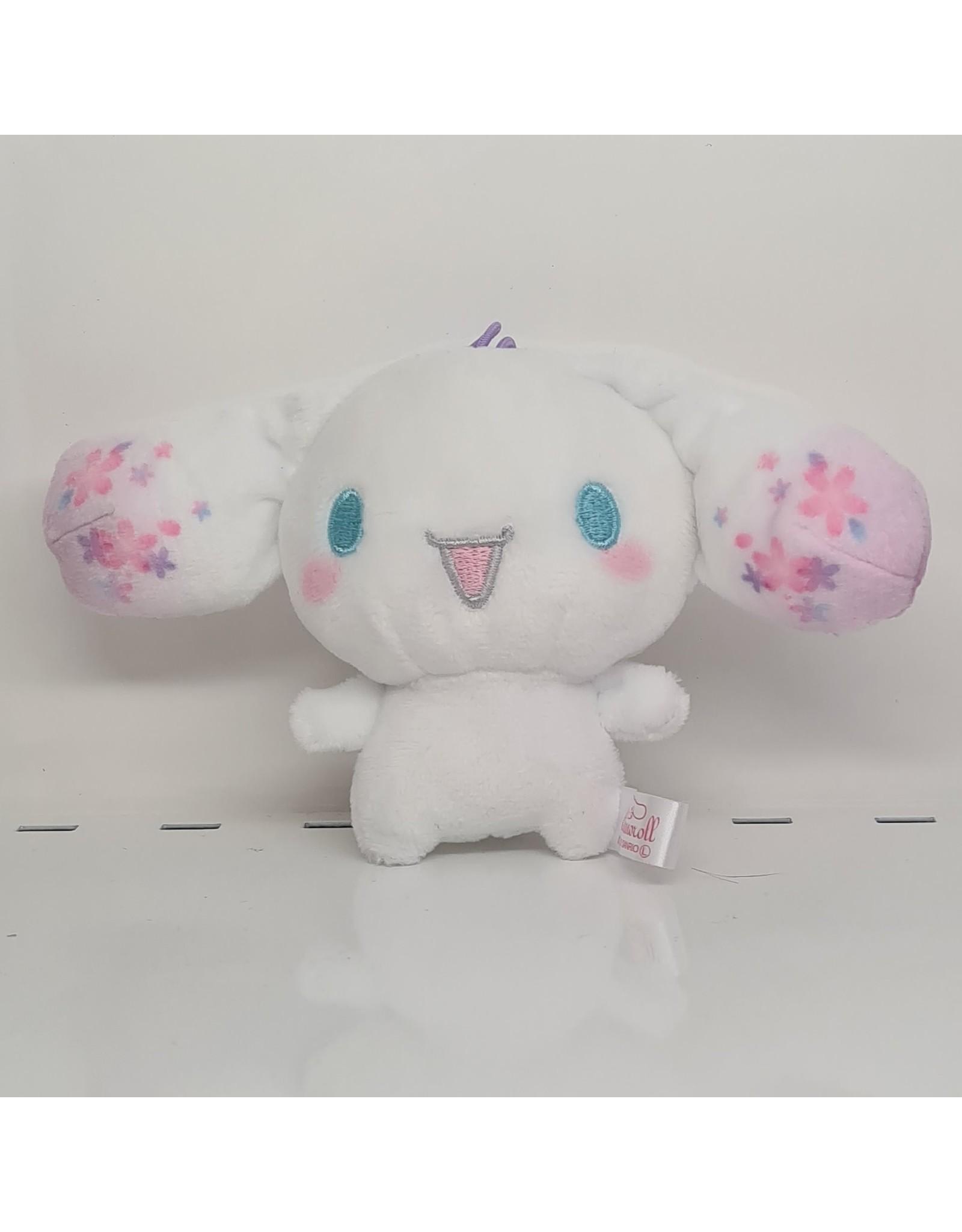 Sanrio Cinnamoroll Sakura Mini Plush - Happy - 10 cm