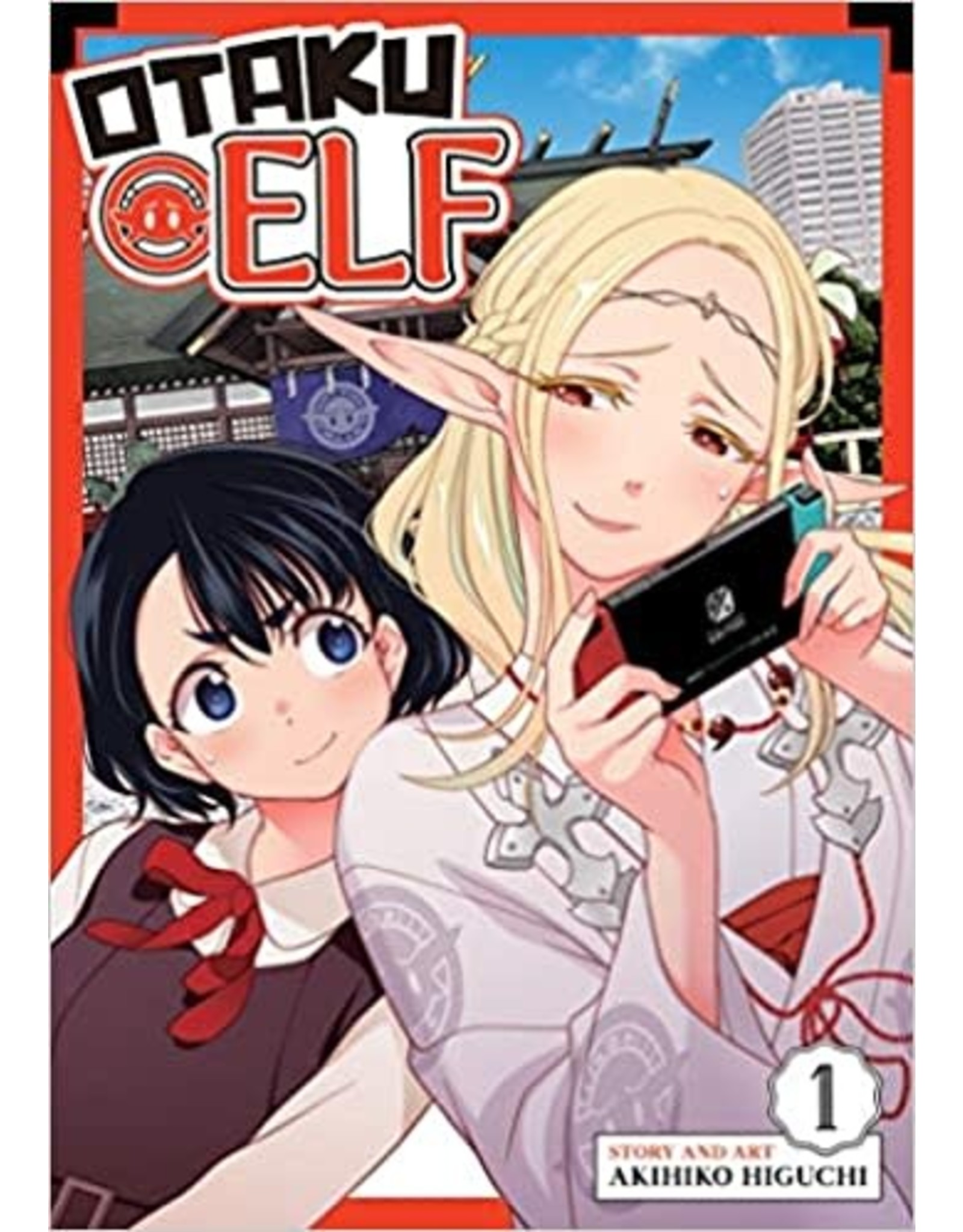 Otaku Elf 1 (Engelstalig)