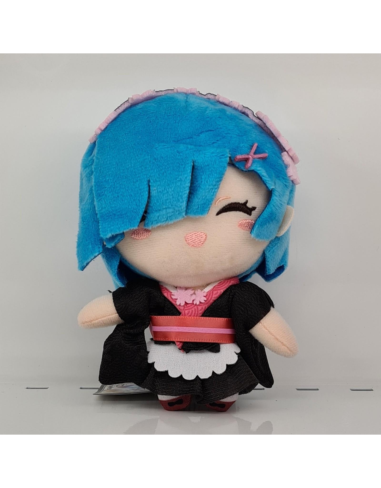 Re:Zero Sakura Rem Mascot Plush - Black - 13 cm