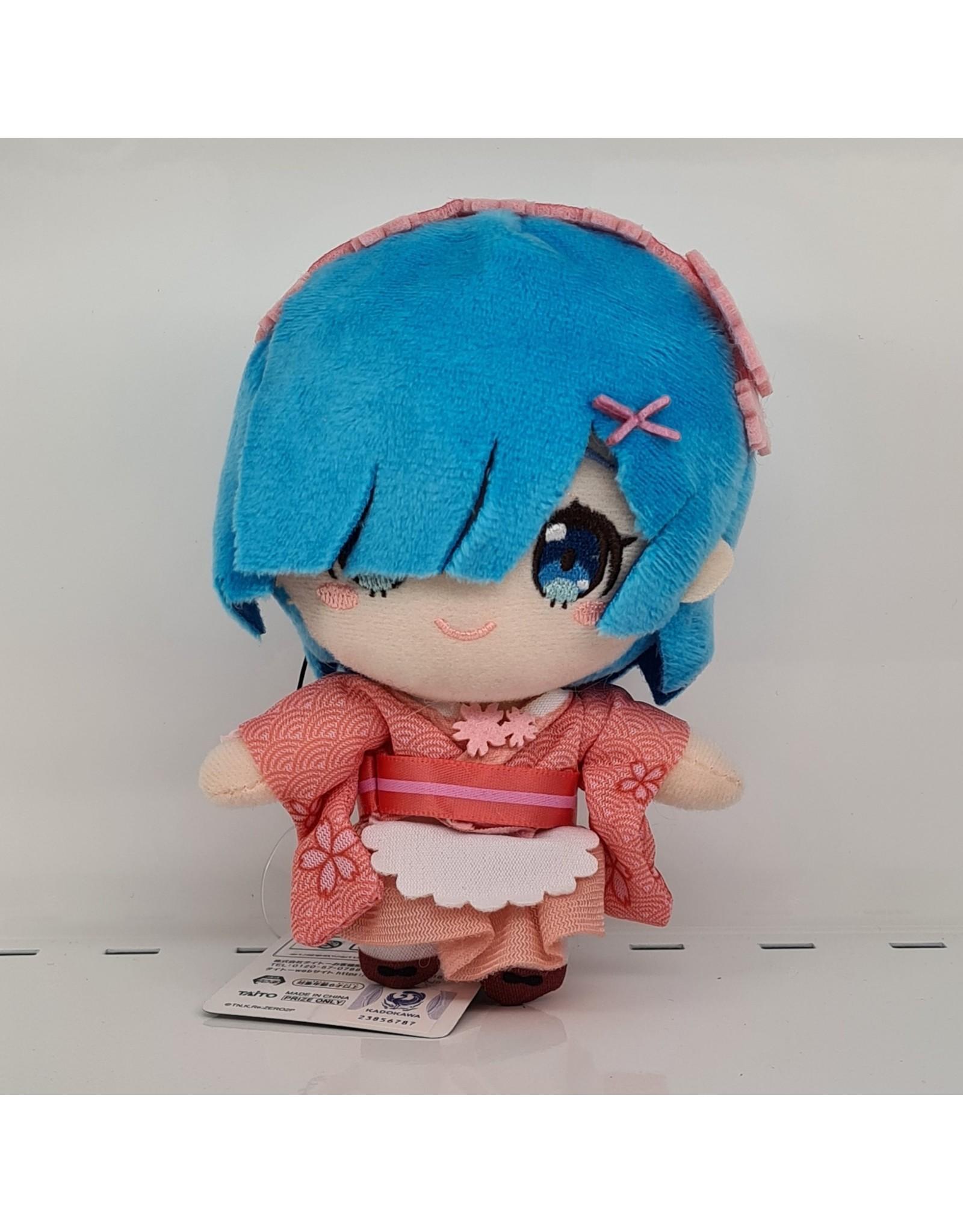 Re:Zero Sakura Rem Mascot Plush - Hairband - 13 cm