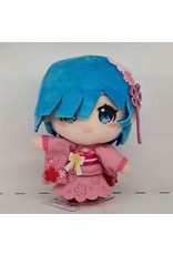 Re:Zero Sakura Rem Mascot Plush - Traditional - 13 cm