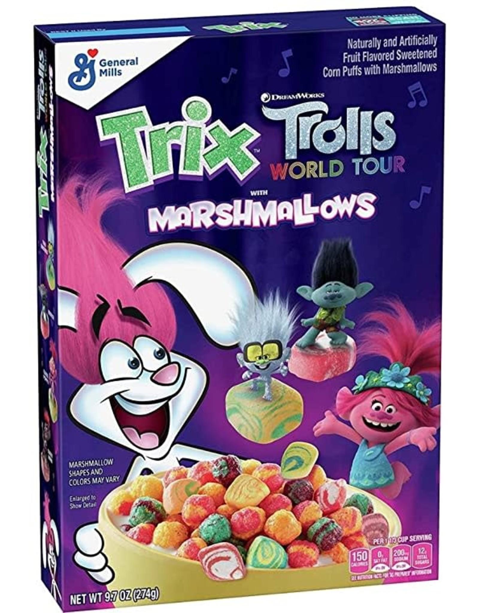Trix Trolls World Tour with Marshmallows - 274g
